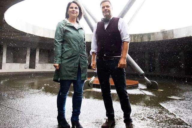 Fotos: Annalena Baerbock und Robert Habeck – wer wird Kanzlerkandidat(in)?