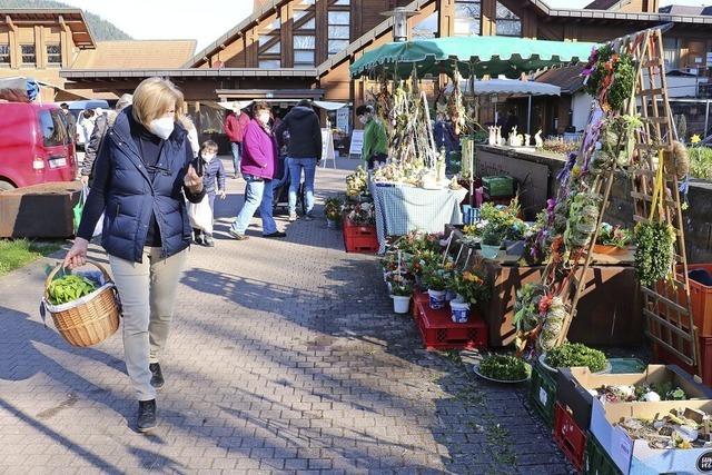 Bauernmarkt in Seelbach