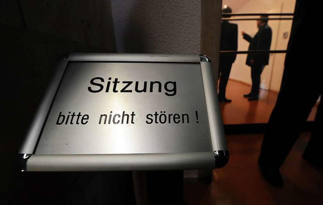 So mancher Stadtrat in Heitersheim sie...u tagen. Anderen geschieht das zu oft.  | Foto: Marijan Murat