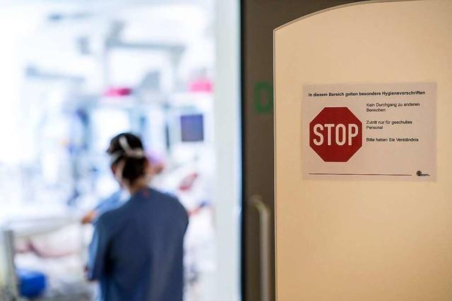 Zahl der Covid-Patienten in Freiburgs Krankenhäusern nimmt weiter zu