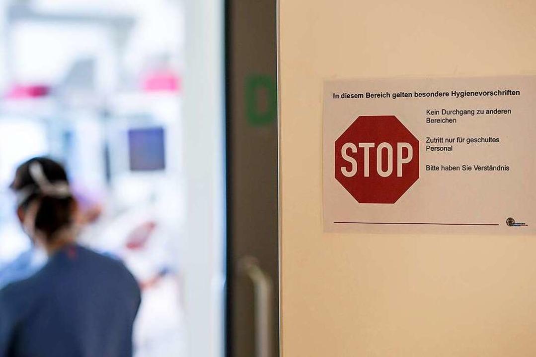 Die vierte Woche in Folgen hat die Zah... Freiburger Krankenhäusern zugenommen.    Foto: Britt Schilling (Uniklinik Freiburg)