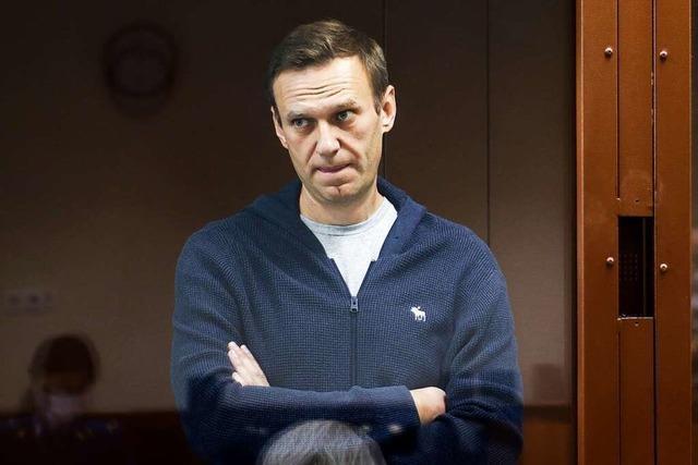In Russland wachsen die Sorgen um den erkrankten Alexei Nawalny