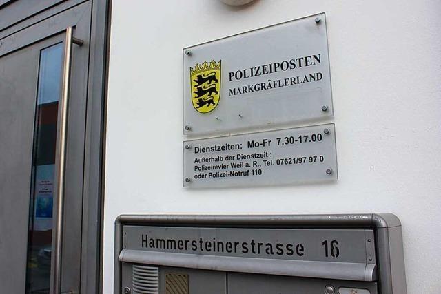 Der neue Polizeiposten in Kandern wird kleiner, aber feiner