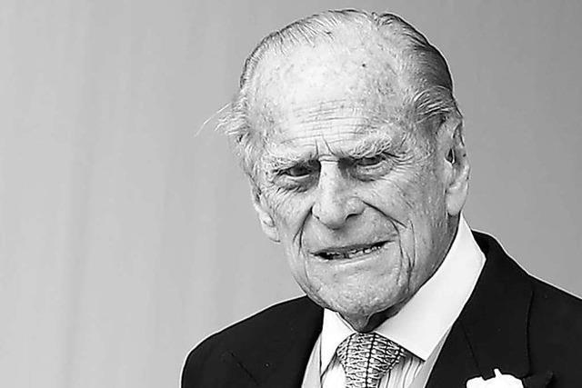 Ein Leben an der Seite der Queen: Die Briten trauern um Prinz Philip