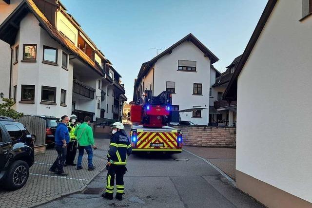Verbranntes Essen: Feuerwehr muss durch enge Altstadtgassen