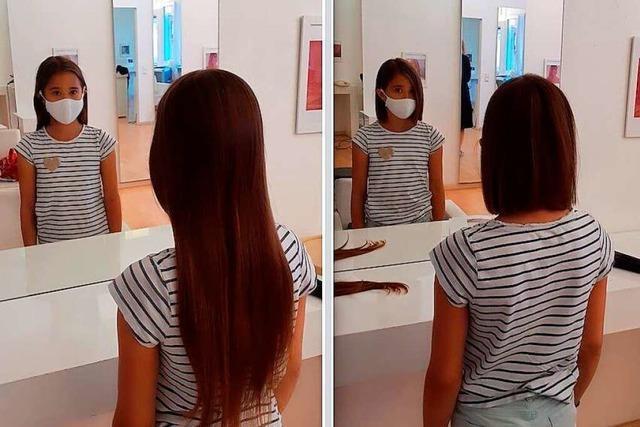 35 Zentimeter Haar für Kinder mit Krebs