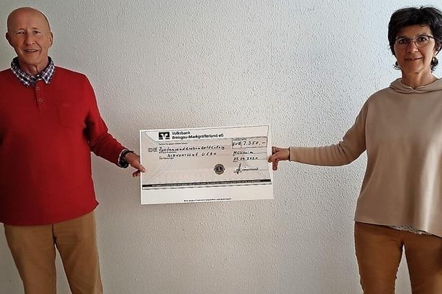 2350 Euro für soziale Projekte