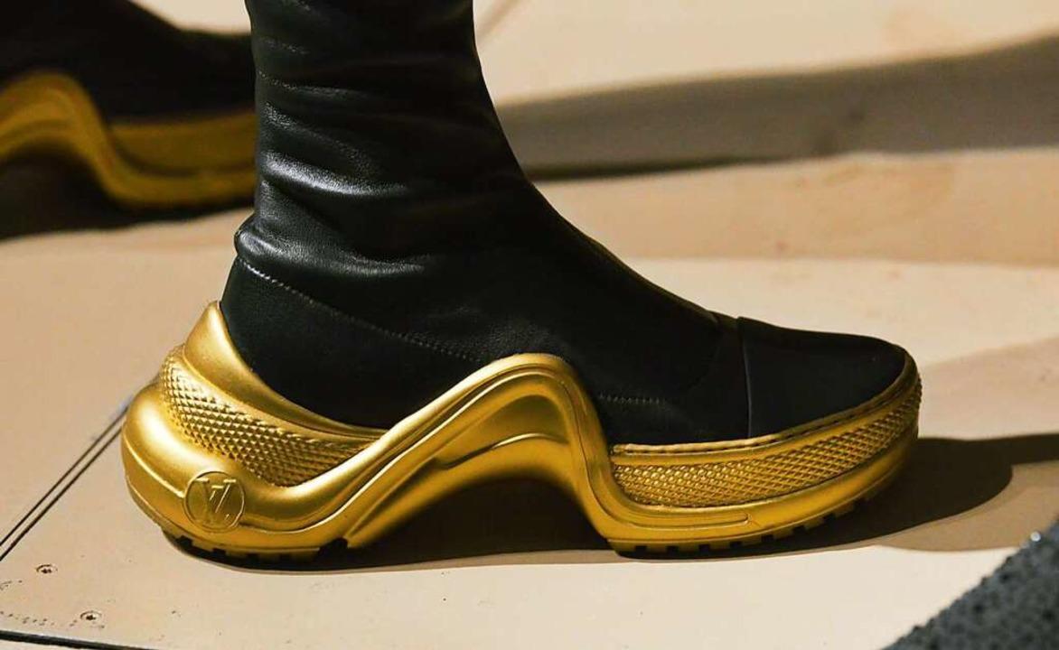 Goldenen Boden kennt man beim Handwerk...n bei der Berliner Fashion Week 2019.   | Foto: Annette Riedl (dpa)