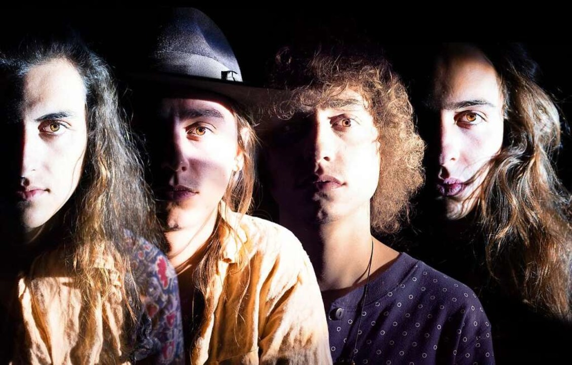 Die Band: Daniel Wagner, Jacob, Joshua...m Kiszka – von links nach rechts  | Foto: Republic Records