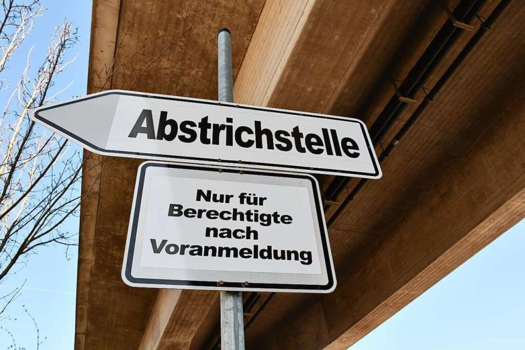 Die Lörracher Fieberambulanz ist am Wochenende geschlossen.  | Foto: Barbara Ruda