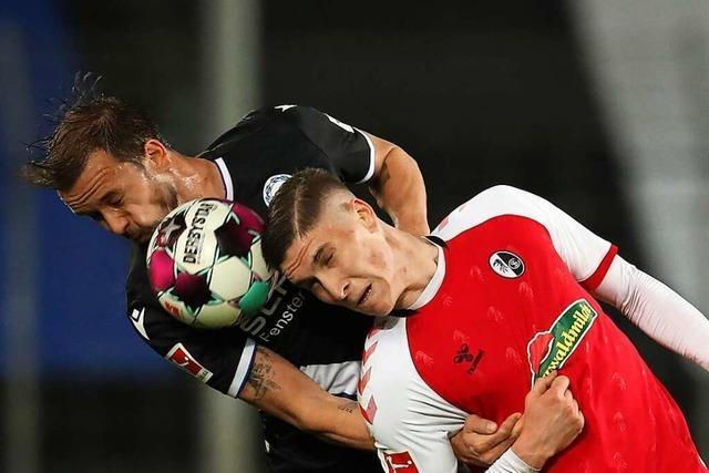 Zu wenige Sportclub-Spieler überzeugen gegen Bielefeld