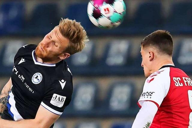 SC Freiburg unterliegt Arminia Bielefeld mit 0:1