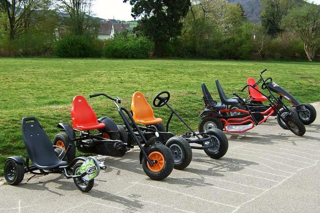 Neue Go-Karts bieten beim Juks St. Geo... corona-konforme Open-Air-Aktivitäten.    Foto: privat