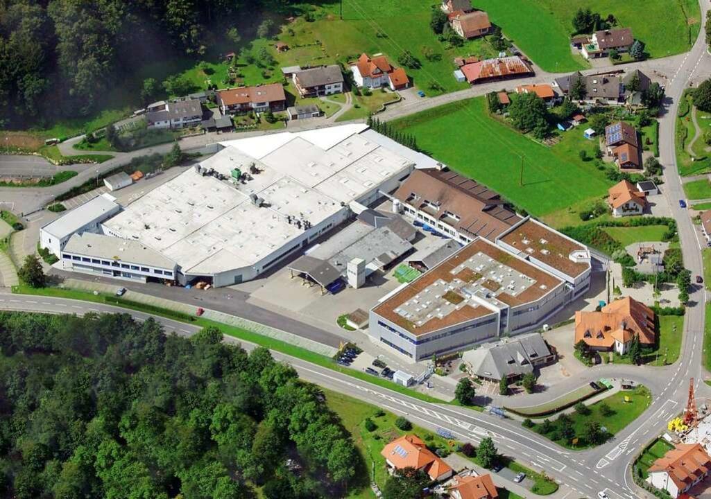 Das Hella-Werk in Wembach  | Foto: Hella