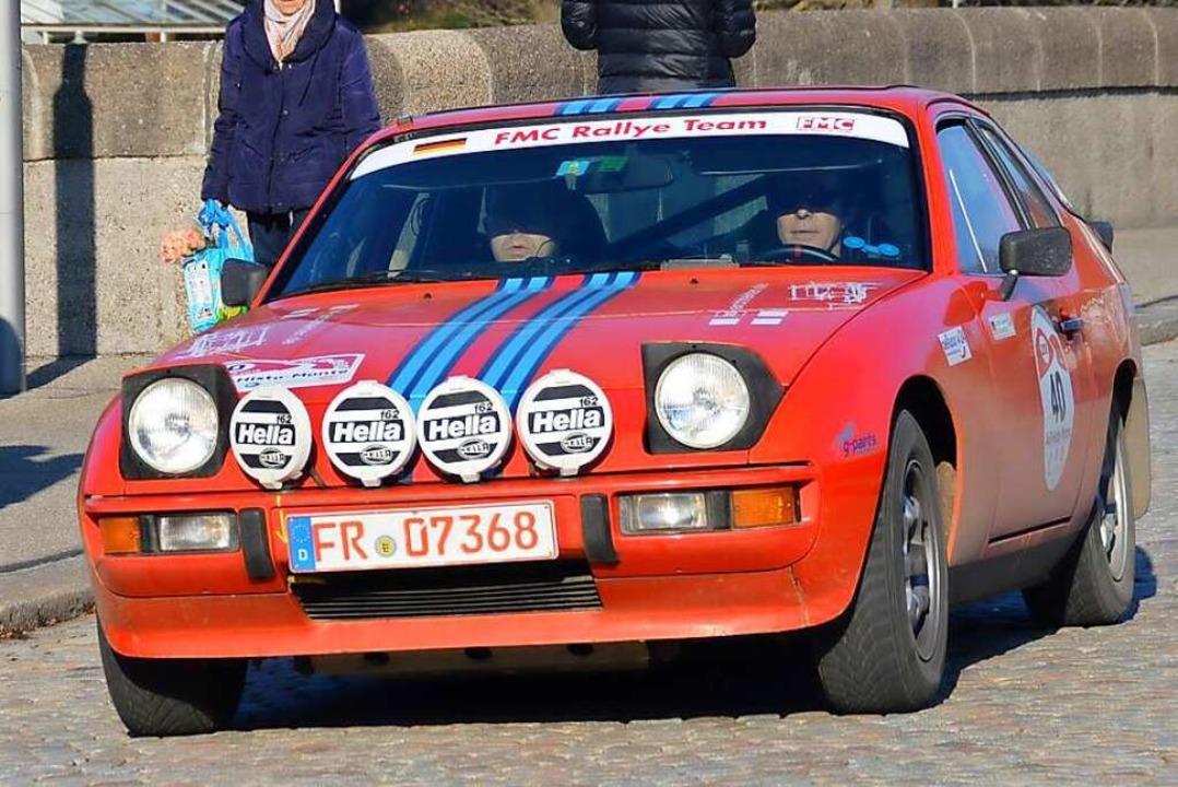 Die Marke des Automobilzulieferers Hella ist auch aus dem Motorsport bekannt.  | Foto: Horatio Gollin