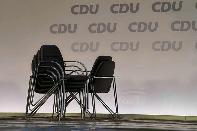 In der CDU wächst der Druck für eine schnelle Kanzlerkandidatenkür