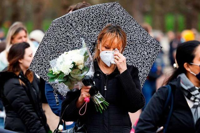 Tränen und Kanonendonner: Briten trauern um Prinz Philip