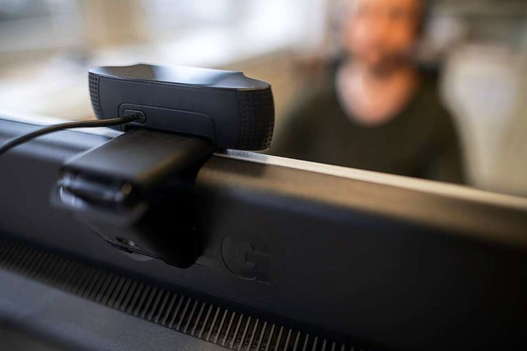 Achtung, Webcam!  | Foto: Sebastian Gollnow (dpa)