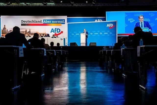 Parteitag in Dresden: AfD setzt auf neue Einigkeit