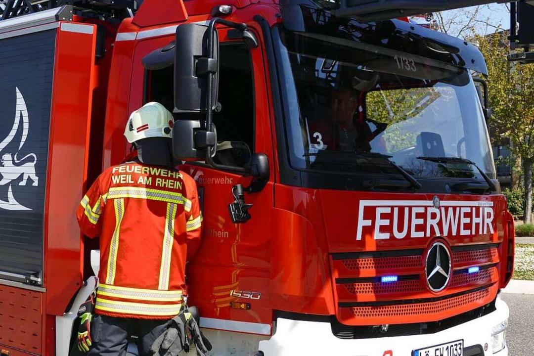 Einsatz für die Weiler Feuerwehr  | Foto: Victoria Langelott