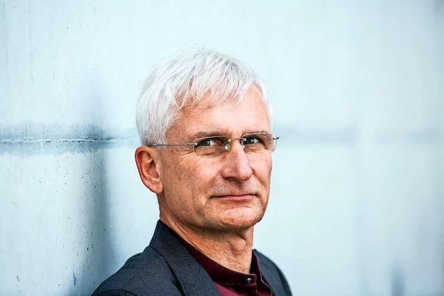 Gerhard Zickenheiner ist bei den Grünen auf Listenplatz 24