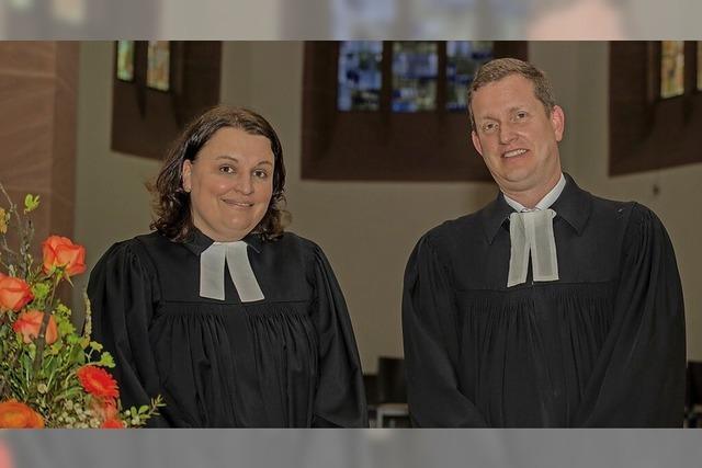 Pfarrerpaar stellt sich vor