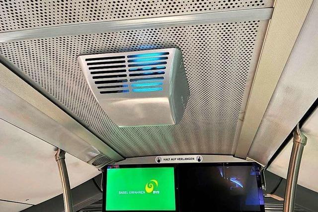 Test mit Desinfektionssystem in Basler Bussen verzögert sich