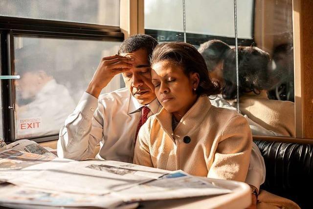 Die Obamas – porträtiert von Callie Shell im Freiburger Carl-Schurz-Haus