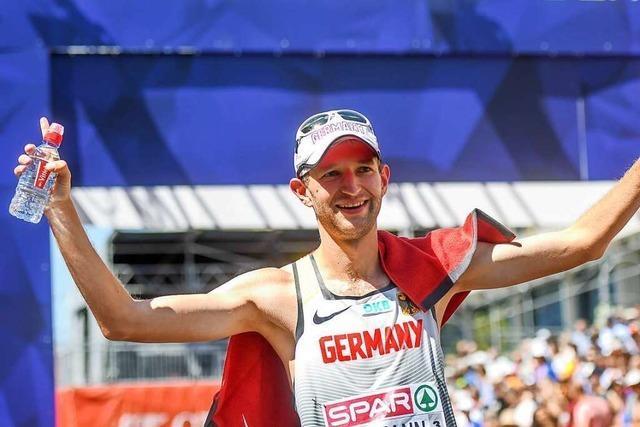 Der Freiburger Geher Carl Dohmann qualifiziert sich für Olympia