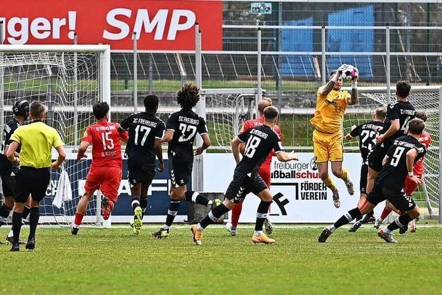 SC Freiburg II landet gegen Steinbach Big Point im Aufstiegsrennen