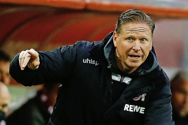 1. FC Köln beurlaubt Trainer Gisdol