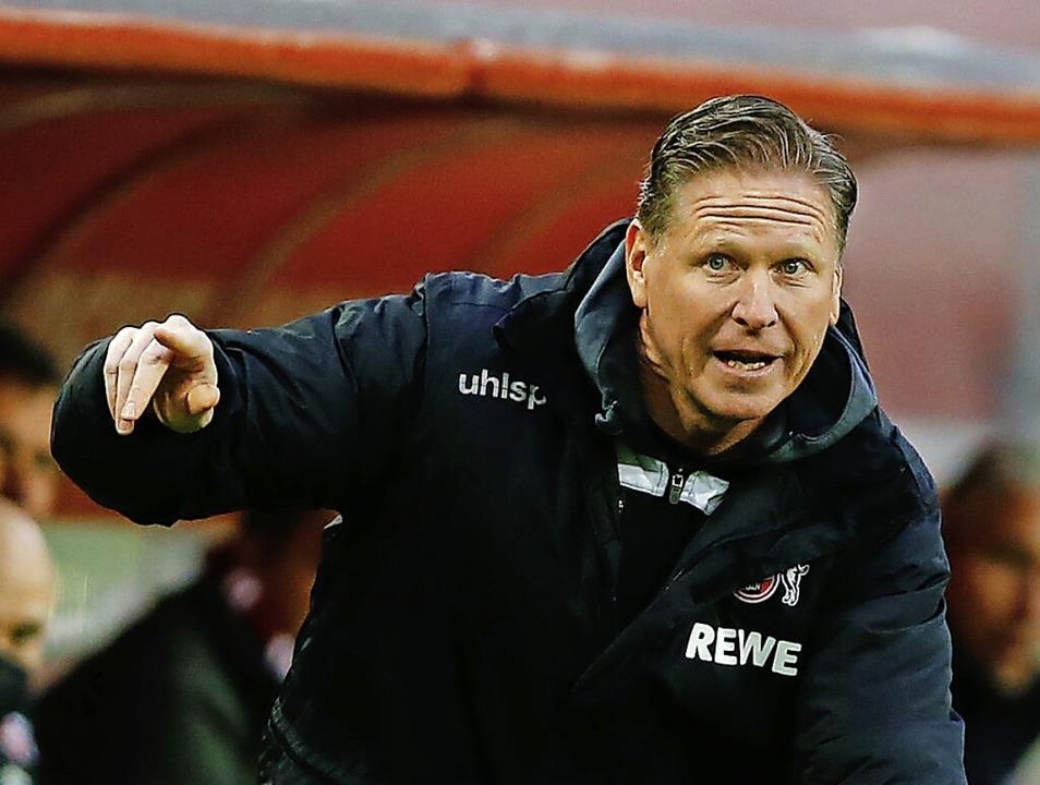 Nicht mehr Trainer in Köln: Markus Gisdol    Foto: Thilo Schmuelgen (dpa)