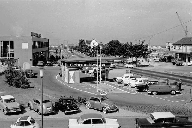Freiburgs erste Automeile lag einst an der Basler Landstraße