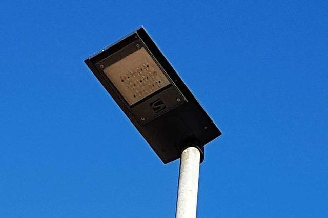 Die Gemeinde Kippenheim setzt auf LED-Technik