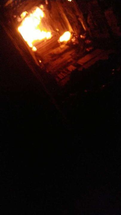 So sieht ein Kaminbrand von innen aus.  | Foto: Privat