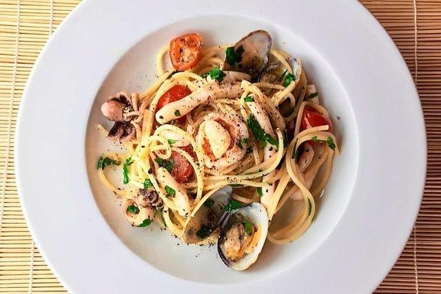 Spaghetti mit Meeresfrüchten: ein Klassiker der mediterranen Küche