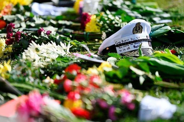 Ein Staatsbegräbnis unter Pandemiebedingungen für Prinz Philip