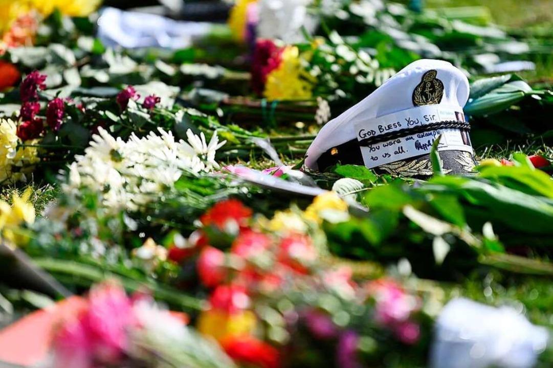 Blumen vor Windsor Castle  | Foto: DANIEL LEAL-OLIVAS (AFP)