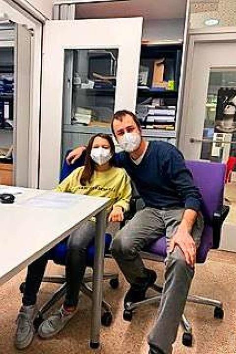 Iman Kartal und Kinderarzt Jan Schönberger  | Foto: privat