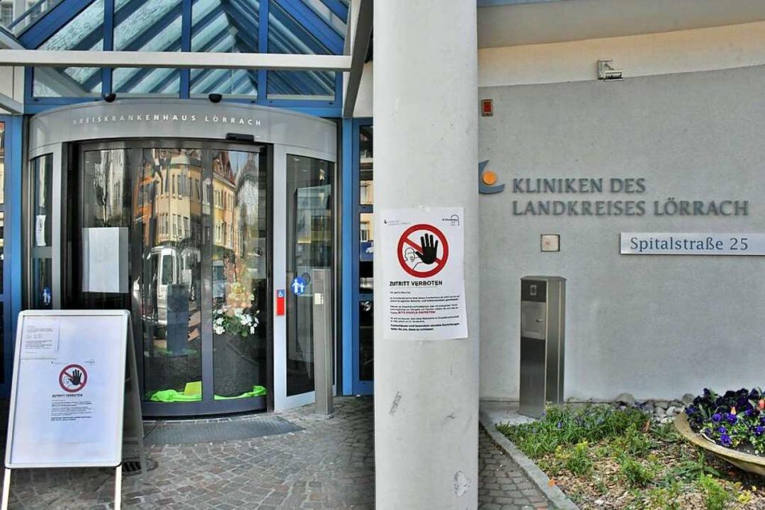 Die Kreisklinik in Lörrach    Foto: Barbara Ruda