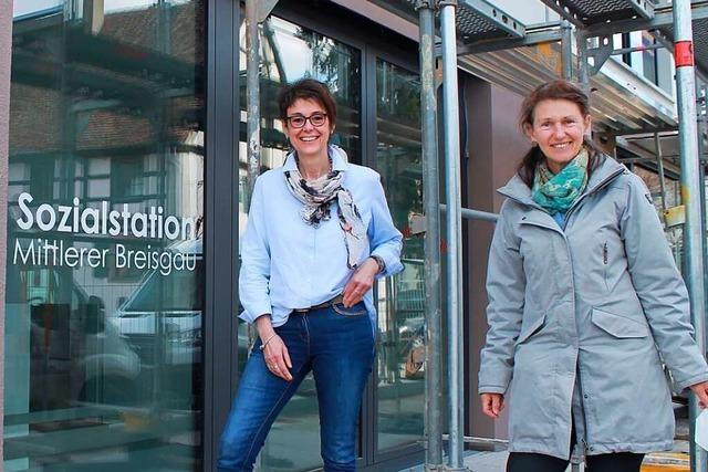 Sozialstation Mittlerer Breisgau hat neue Räume in Merzhausens Ortsmitte