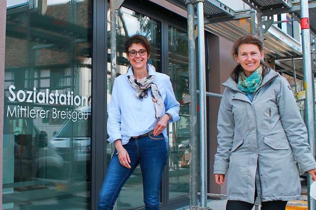 Ulrike Meister (links) und Heike Ostrowski  | Foto: Franzika Kiele