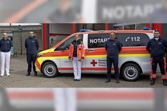 Neues Notarzteinsatzfahrzeug ist größer und bietet mehr Sicherheit