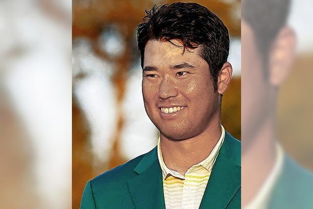 Erstmals siegt ein Japaner bei den Masters