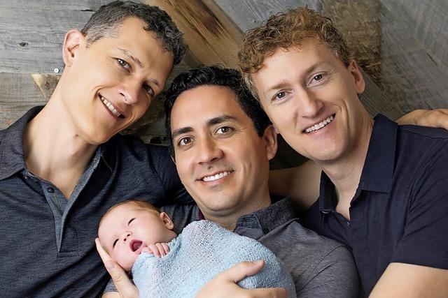 Drei Väter und ein Baby