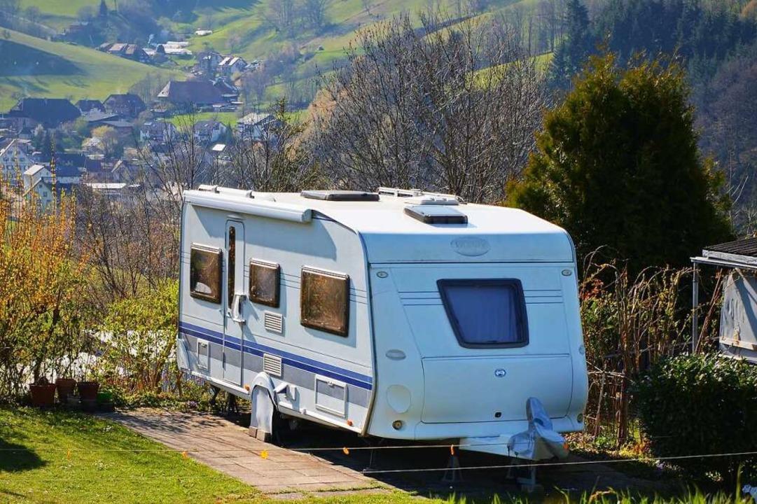 Camping mit Aussicht gibt es auf dem Kirnermarteshof.  | Foto: Kathrin Blum