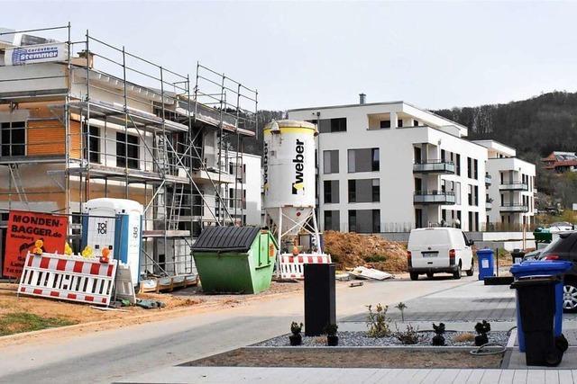 Das Baugebiet Belist in Lörrach-Haagen wächst stetig