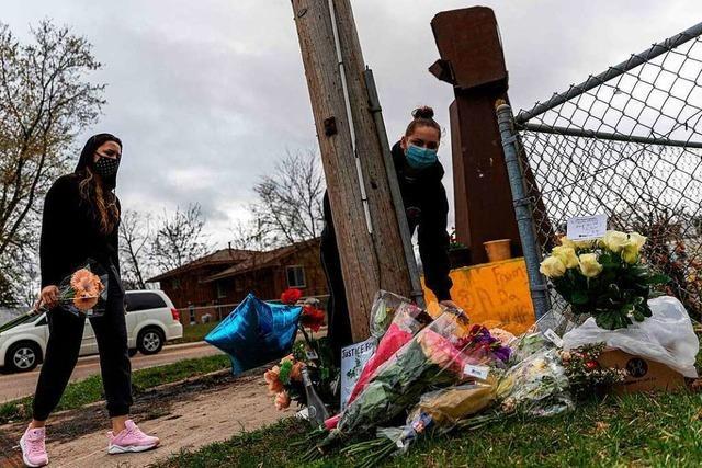 Biden ruft nach Tod von Schwarzem bei Polizeieinsatz zur Ruhe auf