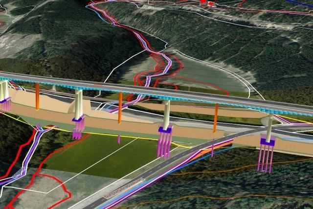 Bau der zweiten Brücke über die Gauchachschlucht soll 2022 starten