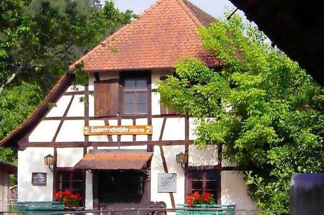 In der Hammerschmiede in Lahr-Reichenbach gibt es Einblicke in frühere Zeiten